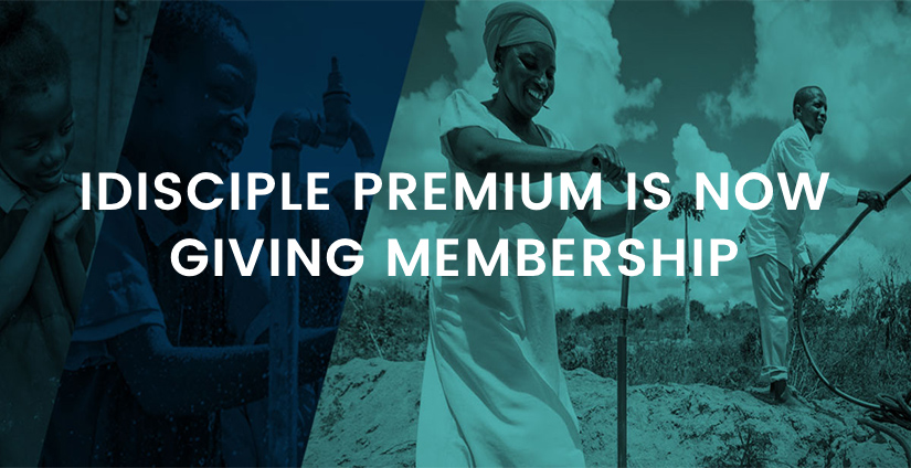 iDisciple Premium is now Giving Membership